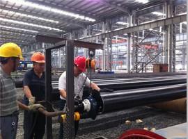 钢管厂流水线坡口加工